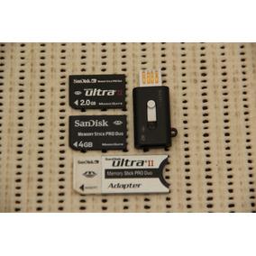 Memory Stick Pro Duos / 2gb / 4gb / Adaptador / Pendrive