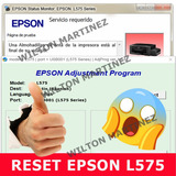 Reset Almohadillas Impresora Epson L575 Solución Inmediata