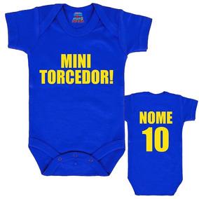 2c7c7144104a0 Camiseta Brasil Infantil - Roupas de Bebê no Mercado Livre Brasil