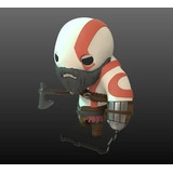 Muñeco, Figura De Acción Kratos Chibi, God Of War 4 No Funko