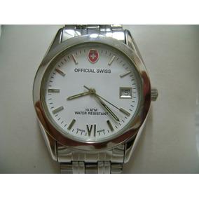 Reloj Official Swiss Original De Cuarzo