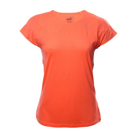 Playera Puma Speed S/s Tee W Nrgy 515610-02 Coral