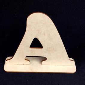 Kit Com 14 Letras Ou Numeral Na Base Mdf Cru Decoração
