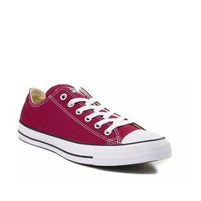 Tenis Converse Mod. 398147 Chuck Taylor Lo Sneaker Maroon/ J