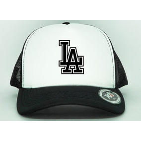 Boné Aba Curva Trucker La Los Angeles Dodgers Promoção f4959f44cc7