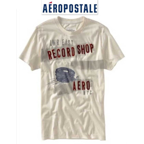 Aeropostale Playera 2x, Xxl, Xx Grande Beige Hombre Padrisma