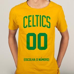 2b38ff2ac2 Camisa Camiseta Boston Celtics Nba Basquete 2018 - Mod. 04