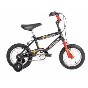 Bicicleta Rodado 12 Varon Nene Bmx Halley 19030 Rueditas