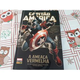 Hq Marvel Deluxe - Capitão América: A Ameaça Vermelha