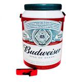 Cooler Térmico 24 Latas 350 Ml Cerveja Budweiser Bebidas