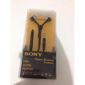 Fone Sony Zipper