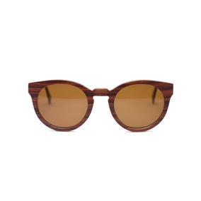e3f57a44d2003 Óculos Redondo De Madeira Allwood - Allplates - Polarizado · R  400
