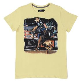 29f167f9e7 Camisa Jeans Manga Longa Feminina Infantil Rodeo Western 227 · Camiseta  Amarela Masculina Old West Rodeio 21723