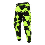 Pantalon Motocross Troy Lee Se Joker Amarillo Fluor negro 4d9a4f94c339