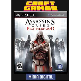 Assassins Creed Brotherhood Ps3 Psn Digital Game Envio Ja