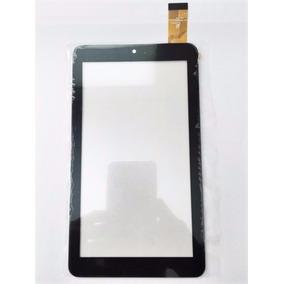 Tela Touch Vidro Tablet Bravva Planet Tab Bv-quad Preto 7pol