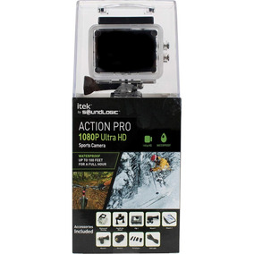 Itek Action Camara 1080p Waterproof Go Pro , Ultra Hd