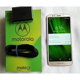 Moto G6 Play, Dorado, 3gb+32gb, Como Nuevo, En Caja, Libre