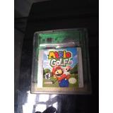 Juego Gameboy Color Mario Golf Usado Cat2