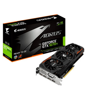 Tarjeta De Video Gigabyte Geforce Gtx1070ti Aourus 8gddr5