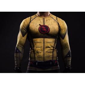 5de0d53233eb9 Camisa Flash Zoom - Camisetas e Blusas no Mercado Livre Brasil