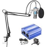 Neewer Nw-800 Kit De Micrófono De Condensador - Micrófono (a