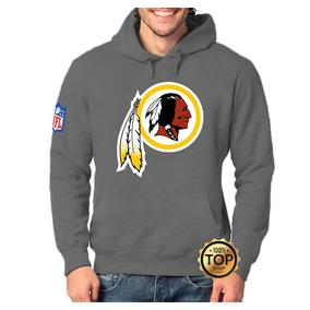 Blusa Moletom Washington Redskins Moleton Índio Nfl Unissex fe17fc369831e