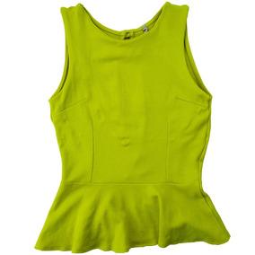 Coqueta Blusa Amarilla Para Niña Mono B Talla L Envío Gratis