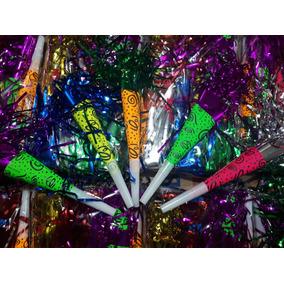 200 Cornetas Carton Neon Fiesta Batucada Evento Barato ccd489cdf4c