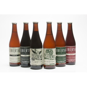 Cerveza Artesanal Libertad 24 Pack Mix 4c/u (ipa Stout Otro)