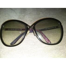 b96253627fe7c Lindo Óculos Novo Azul Estilo Tom Ford De Sol - Óculos no Mercado ...
