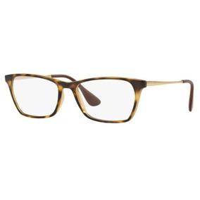 Armação Oculos Grau Ray Ban Rb7053 2301 54mm Havana Brilho T 95003b7999