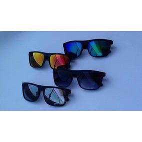 c1ba0e8643ca4 Oculos Espelhado Azul Masculino Quadrado De Sol - Óculos no Mercado ...