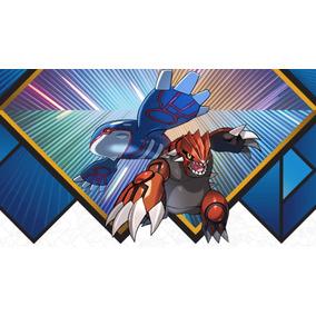 Kyogre E Groudon - Códigos Gamestop - Pokémon Sun & Moon