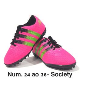 972c35e856 Chuteira Society Original - Chuteiras de Society para Adultos Rosa ...