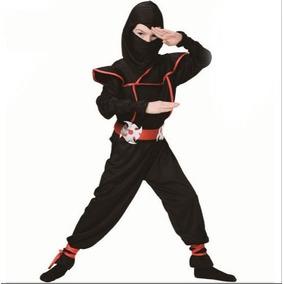 ***promoção Fantasia Ninja Infantil +porta Espadas Ninja