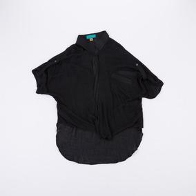 Camisa Anudada Negra Blbell03/13 Tienda Oficial