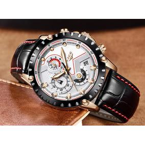 633935a8ac3 Relógio De Pulso Masculino feminino Lige Luxo For Dream §