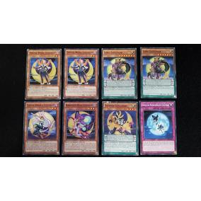 8 Cartas Yugioh Luzlunar - Set Kit Lote