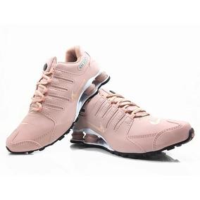0ae9baf6771 Tenis Nike Shox R4 Feminino 4 Molas Pink - Tênis no Mercado Livre Brasil