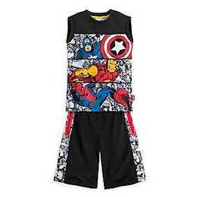 Avengers Marvel Conjunto Short Polo Talla 5/6