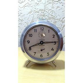 2babd6fa6a2 Despertador Junghans Antigo A Corda - Relógios no Mercado Livre Brasil