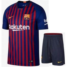 Novo Conjunto Infantil Barcelona Oficial - Super Oferta! a5d78787bec20