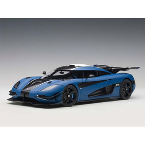 Koenigsegg One: 1 Autoart 1:18 Azul