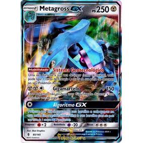Metagross Gx - Sol E Lua Guardiões Ascendentes