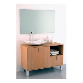 Gabinete Baño Lavabo Minimalista Espejo Gb 2091 54 Gravita