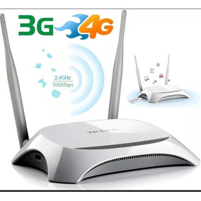 Router Inalambrico Tp-link -mr3420 Usb 3g/4g 300mbps 5dbi