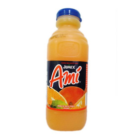 Bebida Con Jugo Amí Frutas Cítricas 18 Pzas De 500 Ml