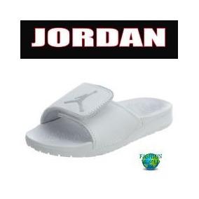 010eceeee9d8c Air Jordan Hydro 6 White Pure Platinum Men Sandalia