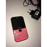 Aparelho Samsung Rosa C 3222 Dual Chip Qwerty 1.3mp